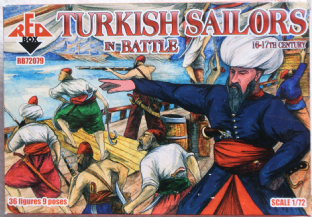 Red Box 1/72 RB72079 Turkish Sailors in Battle (16th-17th Century)